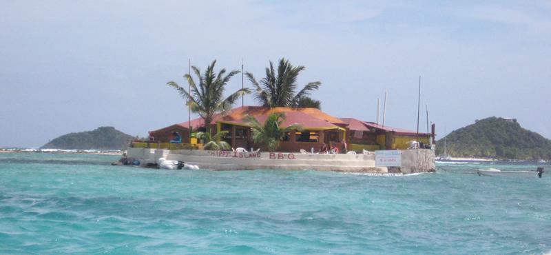 Happy Island, Clifton, the Grenadines